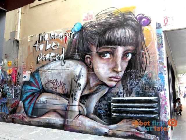 Union Lane Melbourne street art