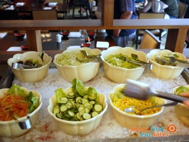 Inagiku, Makati Shangri-La- salad bar