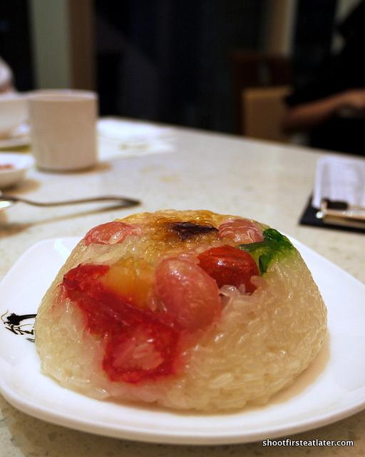 8 treasures rice pudding