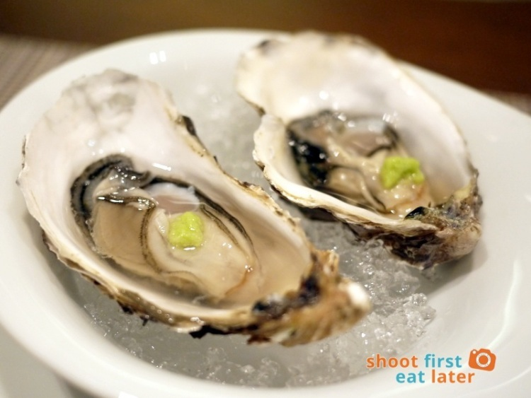 Allium Restaurant - Fresh Birttany Oysters on the Half Shell