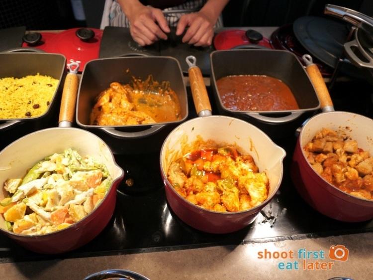 Marco Polo Hotel Ortigas Cucina Restuarant Buffet- Indian & Filipino food