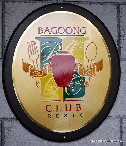 bagoong club