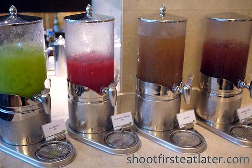 4 kinds of iced tea