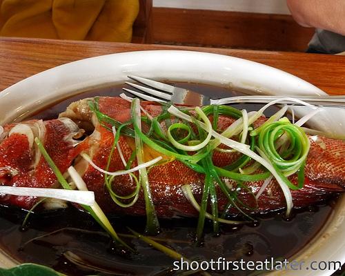 Fundacion Pacita, Batanes- steamed fish