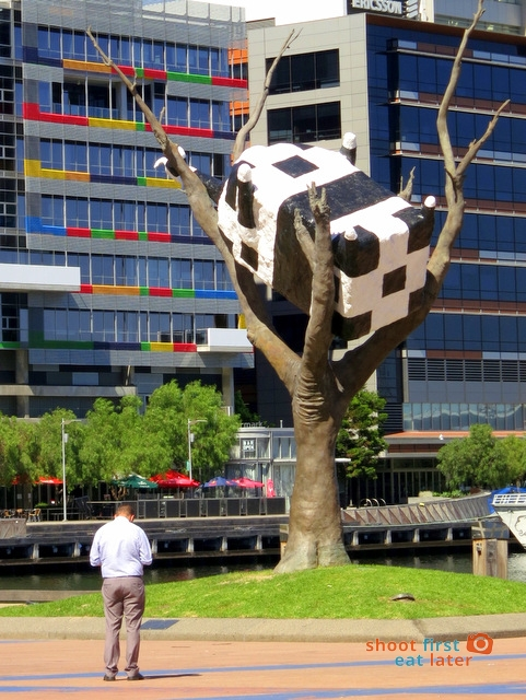 Cow Up A Tree, Docklands, Melbourne