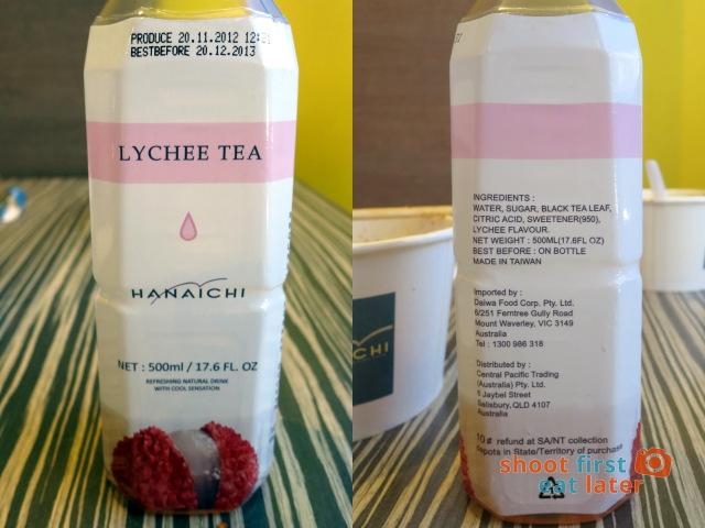 Hanaichi- lychee tea