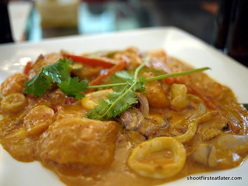 Malabon seafood stew