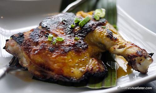 chicken bbq in honey patis