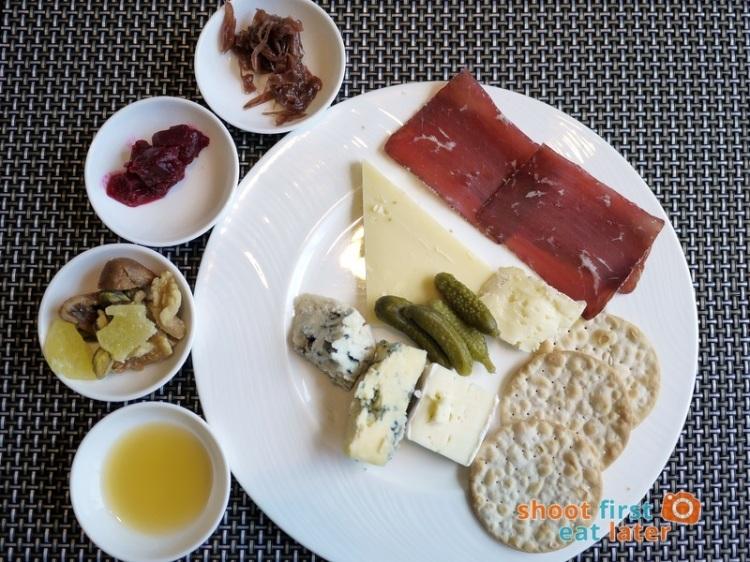 Marco Polo Hotel Ortigas Cucina Restuarant Buffet- cheese & charcuterie plate