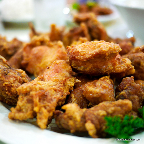 Shantung's fried crispy chicken