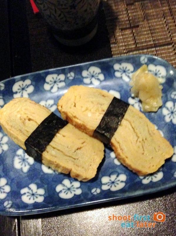 Toki Japanese REstaurant- tamago P100
