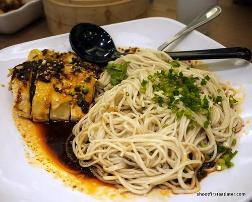 noodles w/ spicy chicken