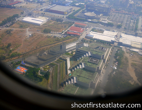 Manila from the plane-1