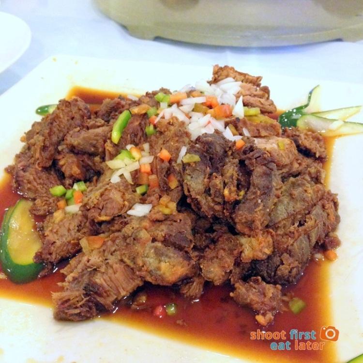Century Seafood Restaurant- Fried Beef Brisket