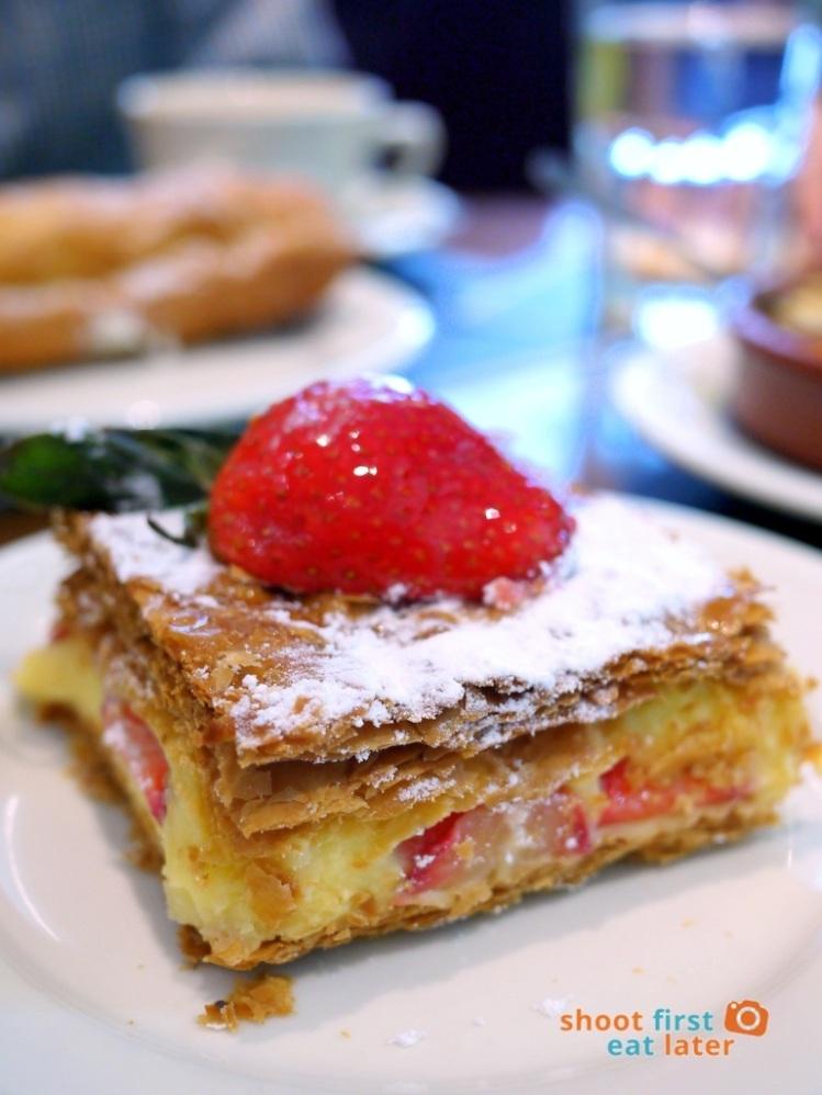Paul Boulangerie Manila- strawberry millefeuille P150