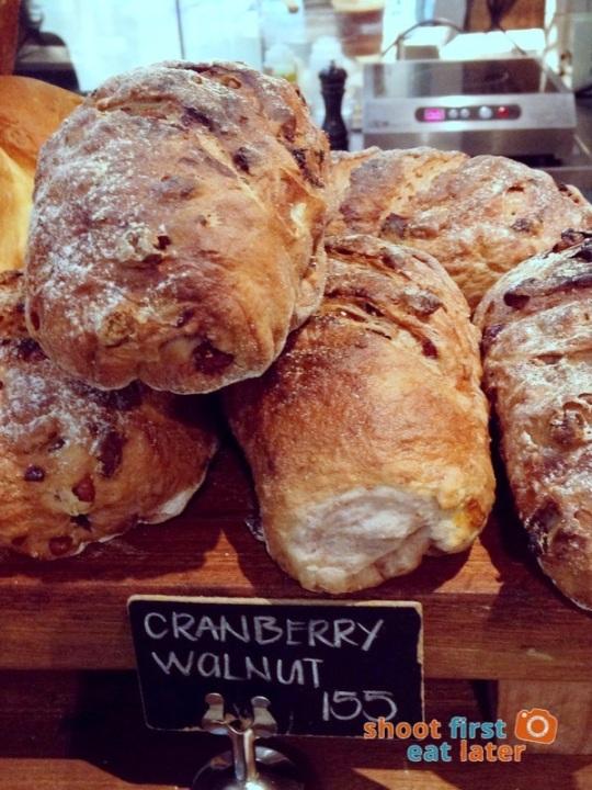 Wildflour Cafe Podium - 02 cranberry walnut bread P155