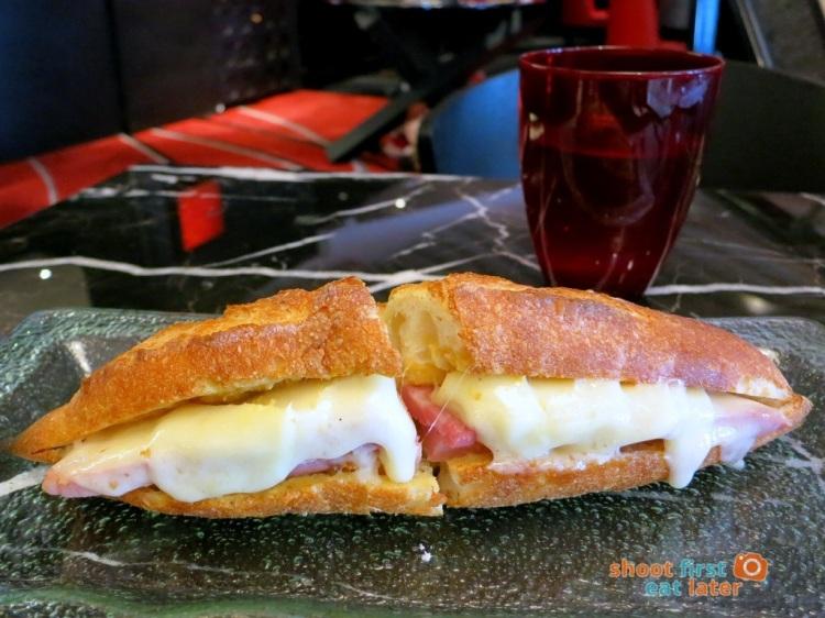 Le Salon de Thé de Joel Robuchon (Elements HK) - Ham and Gruyere sandwich HK$58-003