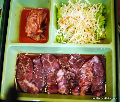 US Beef Karubi cut set