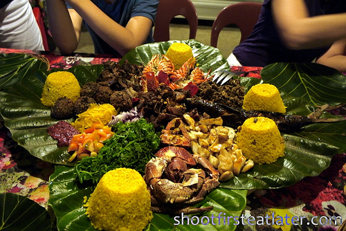 Pension Ivatan platter- before