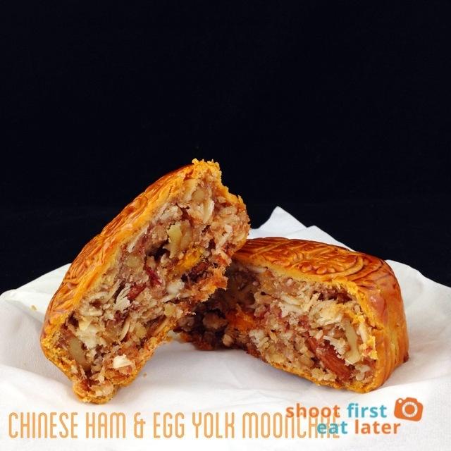 Chinese ham & egg yolk mooncake