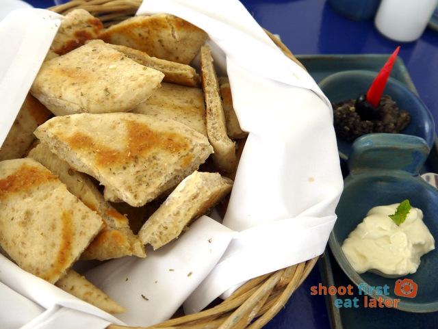 Balesin Island Club - Mykonos Village's Taverna Thanassis restaurant-pita bread