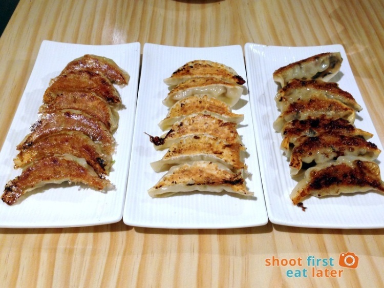 Osaka Ohsho Philippines - Gyoza (original, cheese & nori)