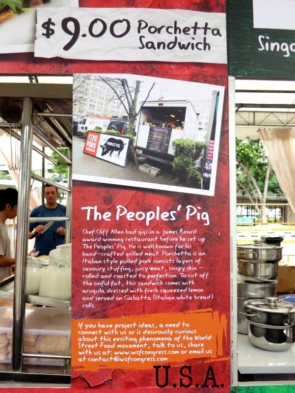 The People's Pig porchetta sandwich