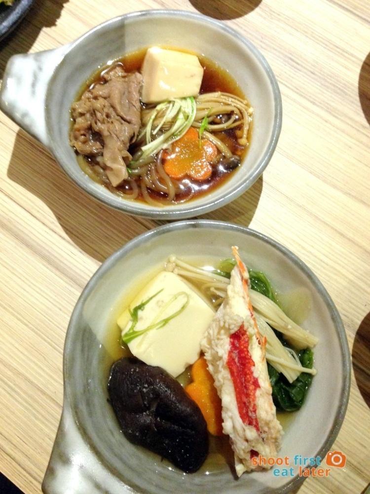 Kitsho Restaurant - Sukiyaki & King Crab Hot Pot