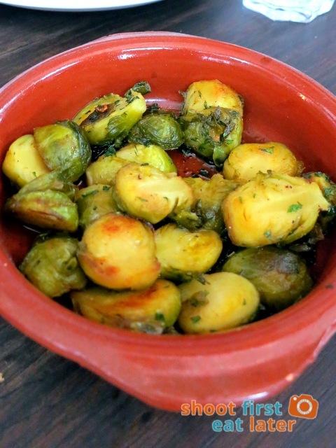 Gaucho Cocina Y Vinos Argentinos- brussels sprouts P220