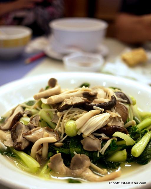 veggies w/ fresh mushrooms