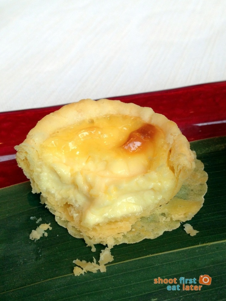 Tin Lung Heen - Baked Egg Custard Tart