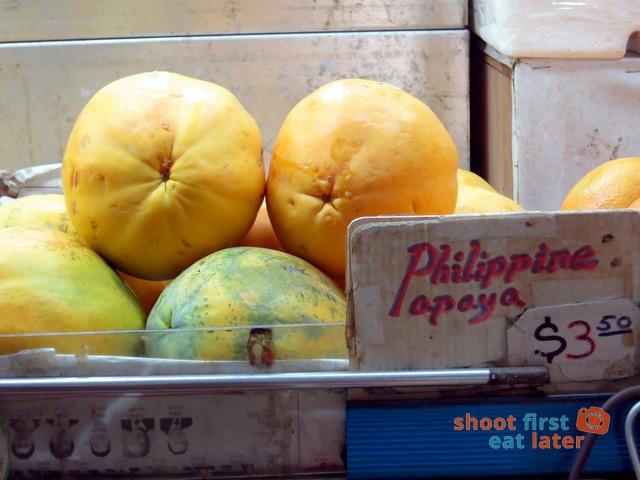 Philippine papayas