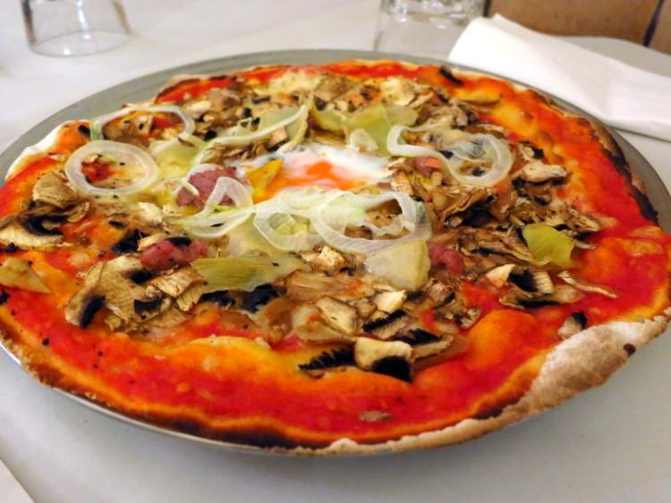 pizza alla capricciosa