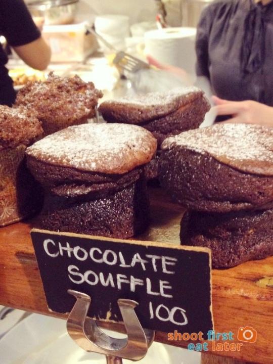 Wildflour Cafe Podium - 09 chocolate souffle P100