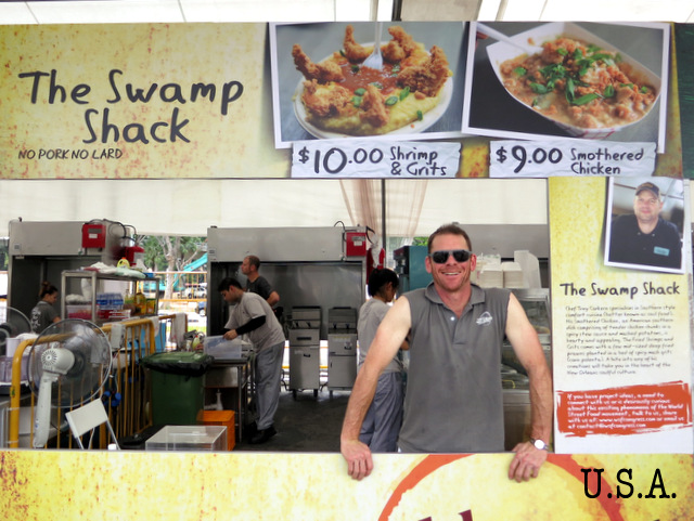 The Swamp Shack's shrimp and grits