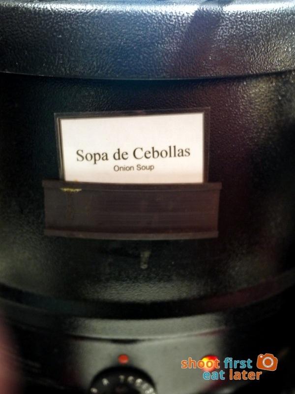 Alba Restaurante Español - Sopa de Cebollas (onion soup)