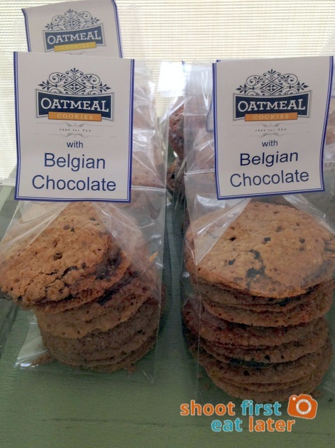 Connie's Kitchen Deli - oatmeal cookies with Belgian chocolate