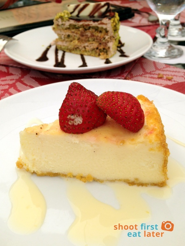 Le Chef at The Manor, Baguio- Strawberry Cheesecake