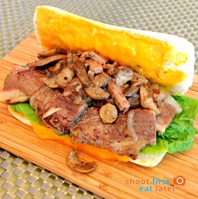 DeliBoys roast beef sandwich