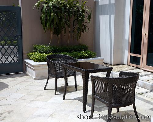 Venetian Macau - Verona Suite- patio