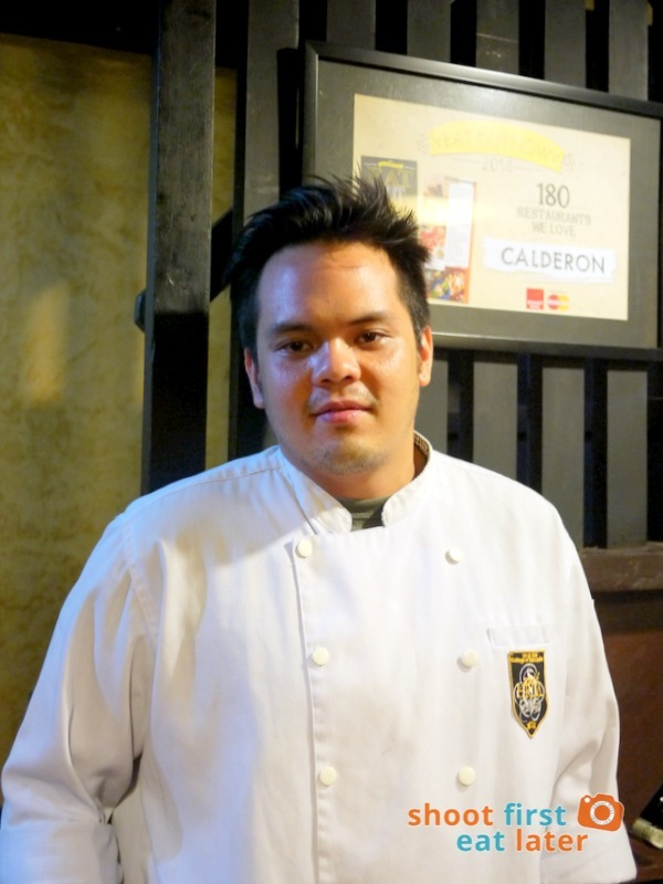 Calderon Restaurant - Chef Rafa