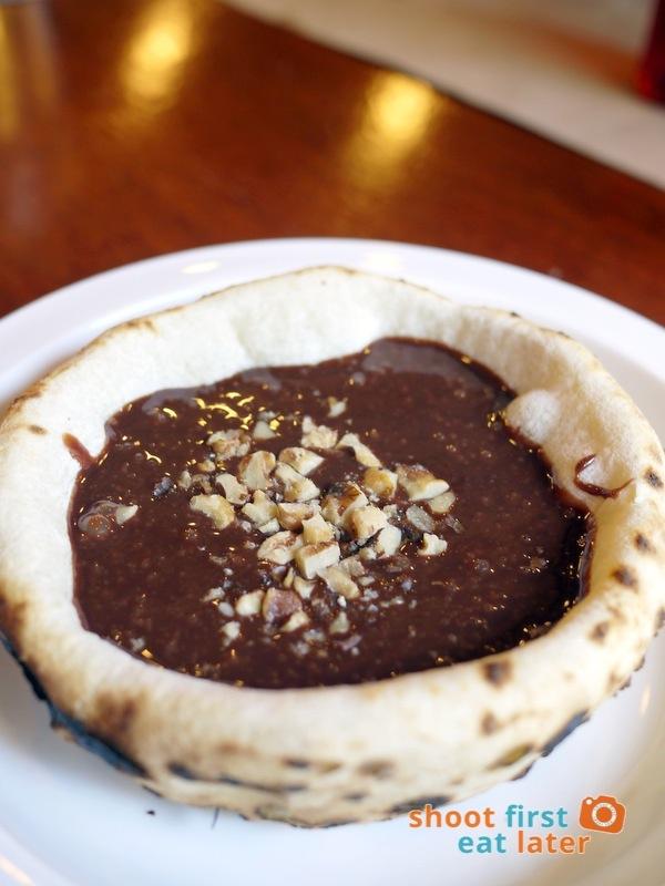 Gino's Brick Oven Pizza (Salcedo branch)- Nutella soup P180