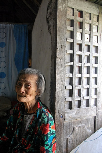 Lola Ida, oldest woman in Batanes