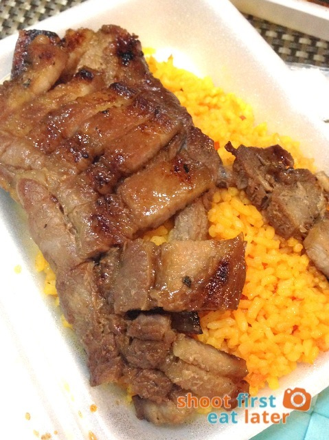 Reyes Barbecue - grilled liemp meal P125