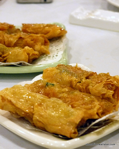 fried beancurd roll