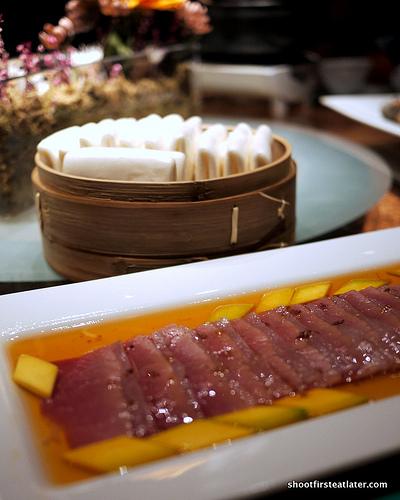 honey glazed Chinese ham