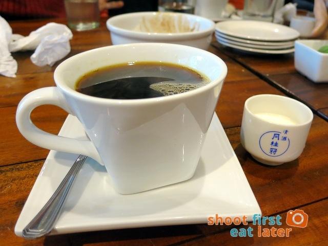single origin Sagada (Cordillera) coffee P85
