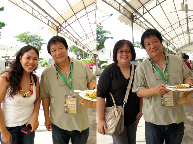 Monique and I with KF Seetoh