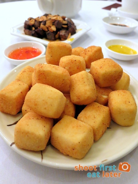 Fu Sing Seafood Restaurant- 8 spices fried tofu HK$75