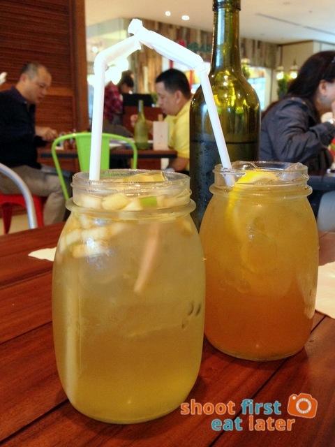 kombucha tea Green Pastures style P145 & organic melon green tea P100